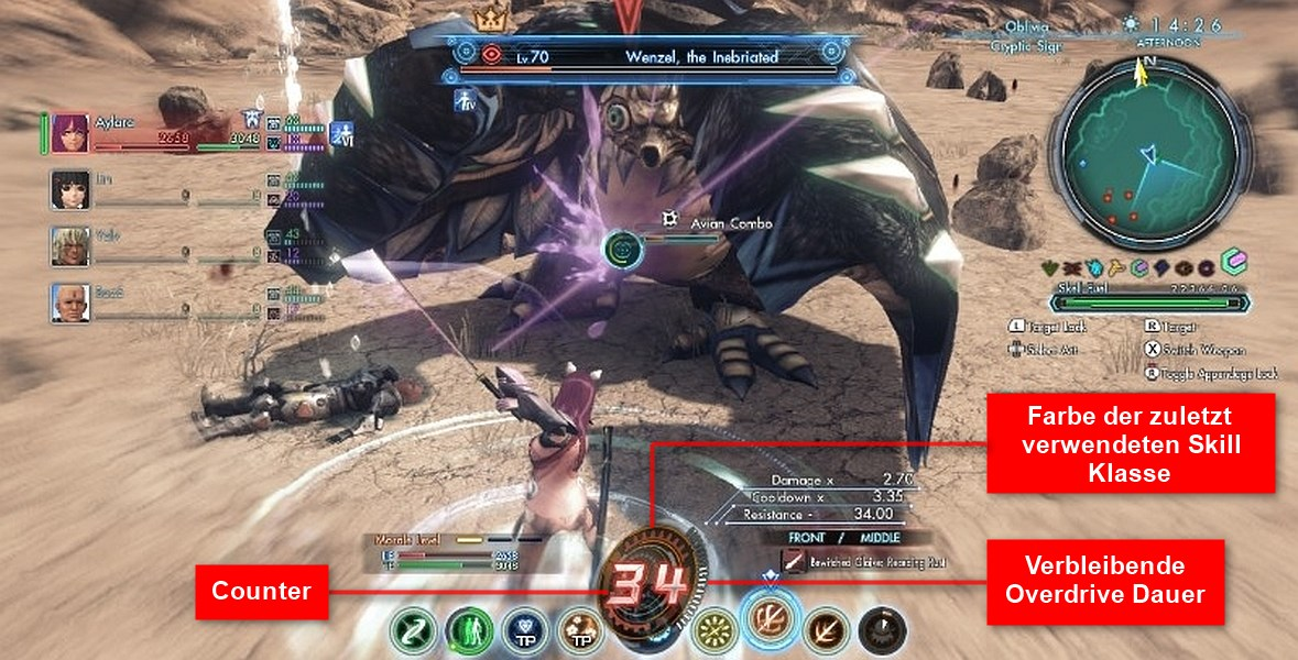 Xenoblade Chronicles X Overdrive Übertakten Guide