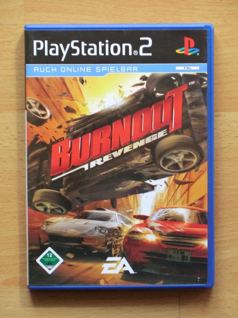 Burnout Revenge PS2 Racing