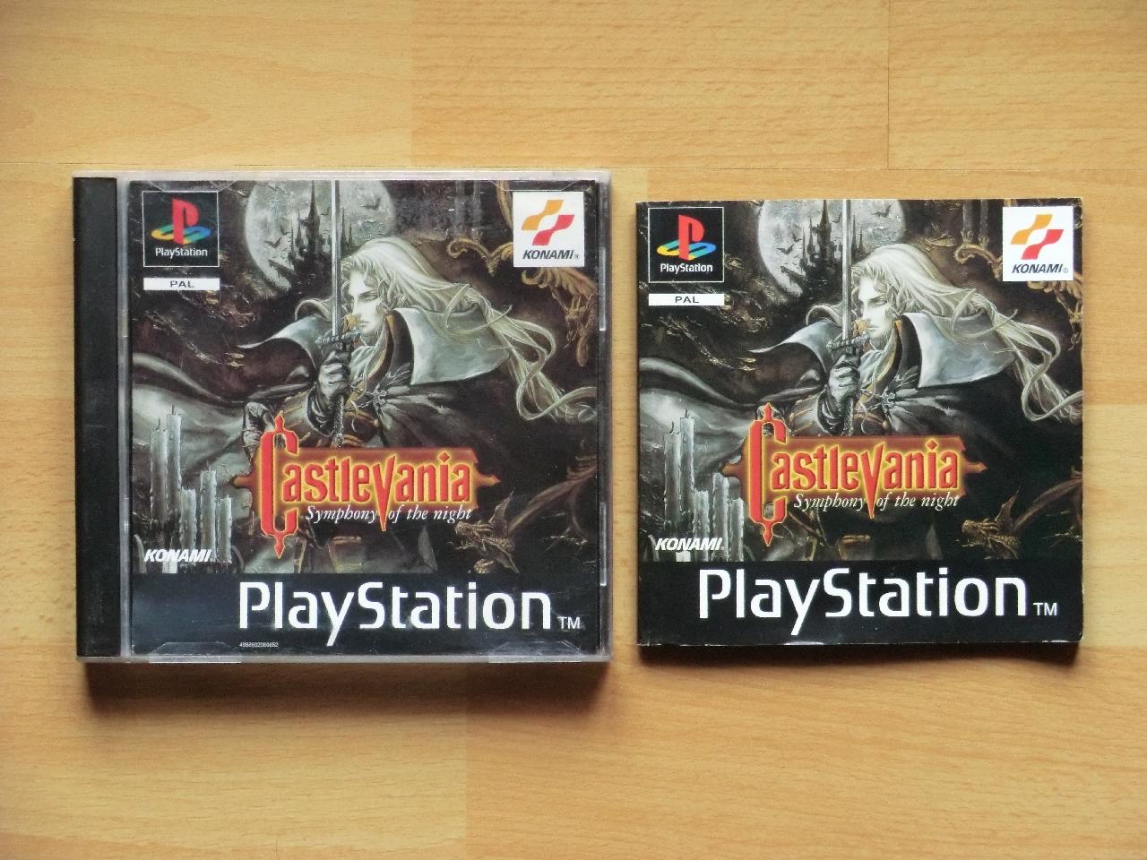 Castlevania Symphony of the night PS2 PlayStation 2 Metroidvania