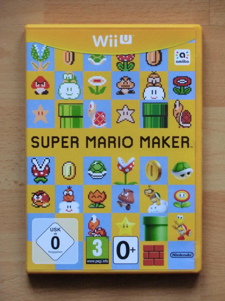 Super Mario Maker WII U Jump and Run