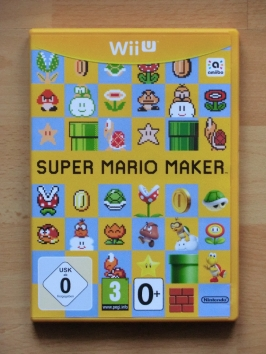 Super Mario Maker WII U Jump and Run