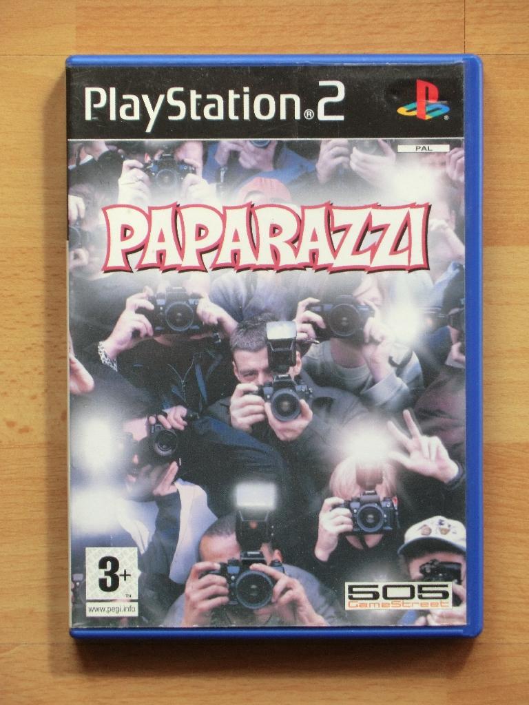 Paparazzi PS2 PlayStation 2