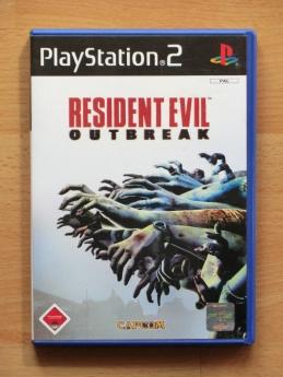 Resident Evil Outbreak PS2 Survival Horror PlayStation 2