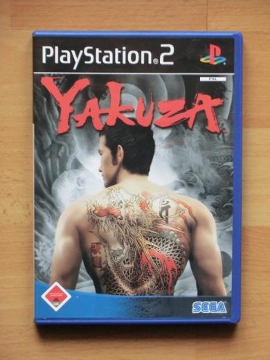 Yakuza PS2 PlayStation 2