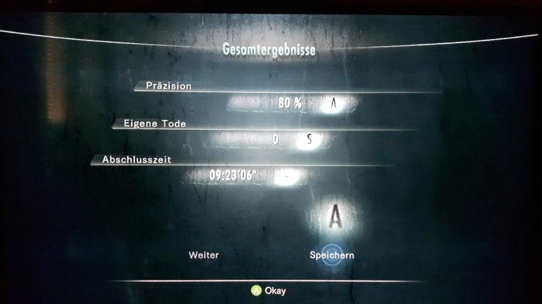 Resident Evil Revelations Jill Valentine Xbox360 Survival Horror durchgezockt finished
