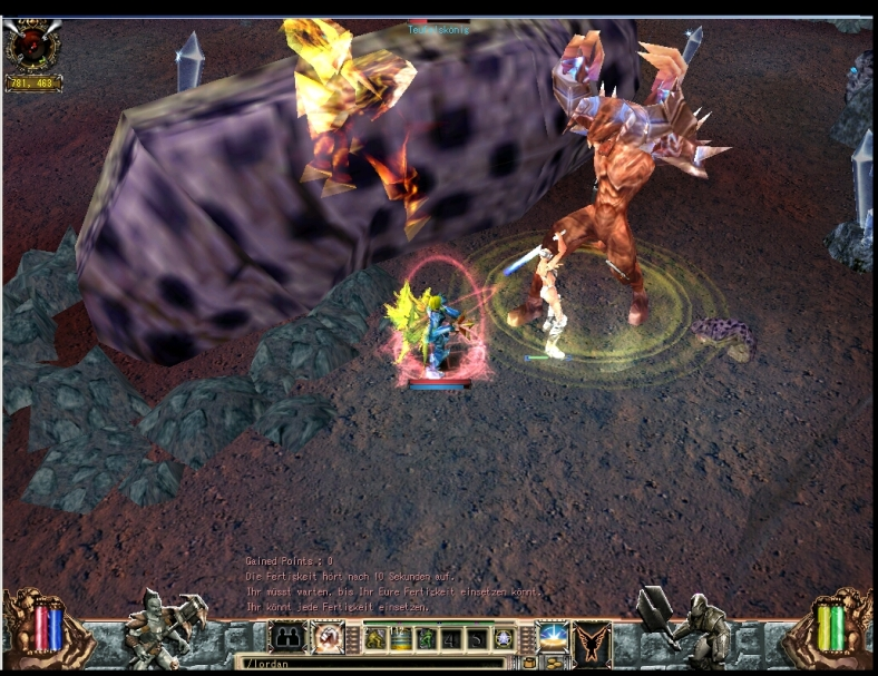 Teufelskönig Devil King Sealoost Biosfear MMO RPG Laghaim
