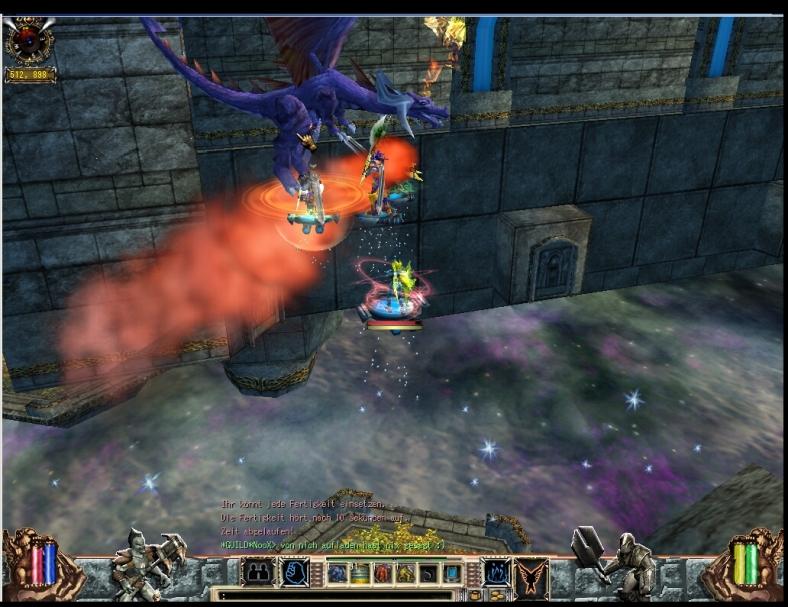 Erd Drache Earth Dragon Paros Biosfear MMO RPG Laghaim