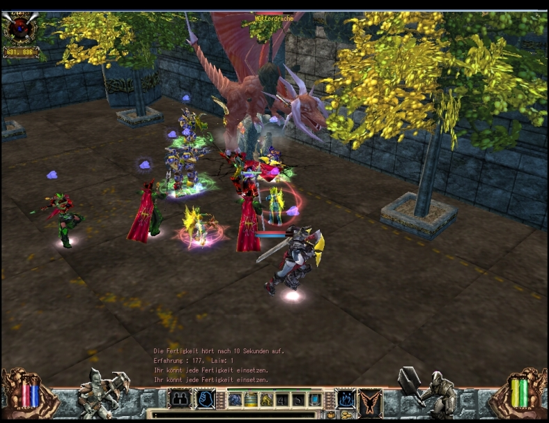 Mutter Drache Mother Dragon Paros Biosfear MMO RPG Laghaim