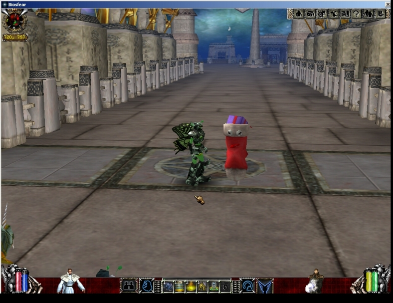 Aidian Laglamia Biosfear MMO RPG Laghaim