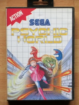 Psychic World Master System Action