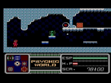Psychic World Master System Action Screenshot