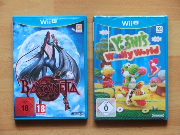 Bayonetta Yoshis woolly world wii u