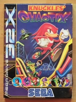 Knuckles Chaotix 32X Jump and Run