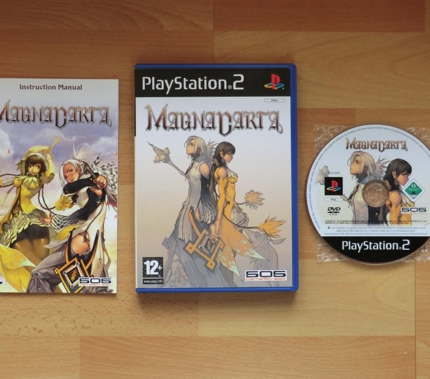 Magna Carta Playstation 2 PS2 RPG