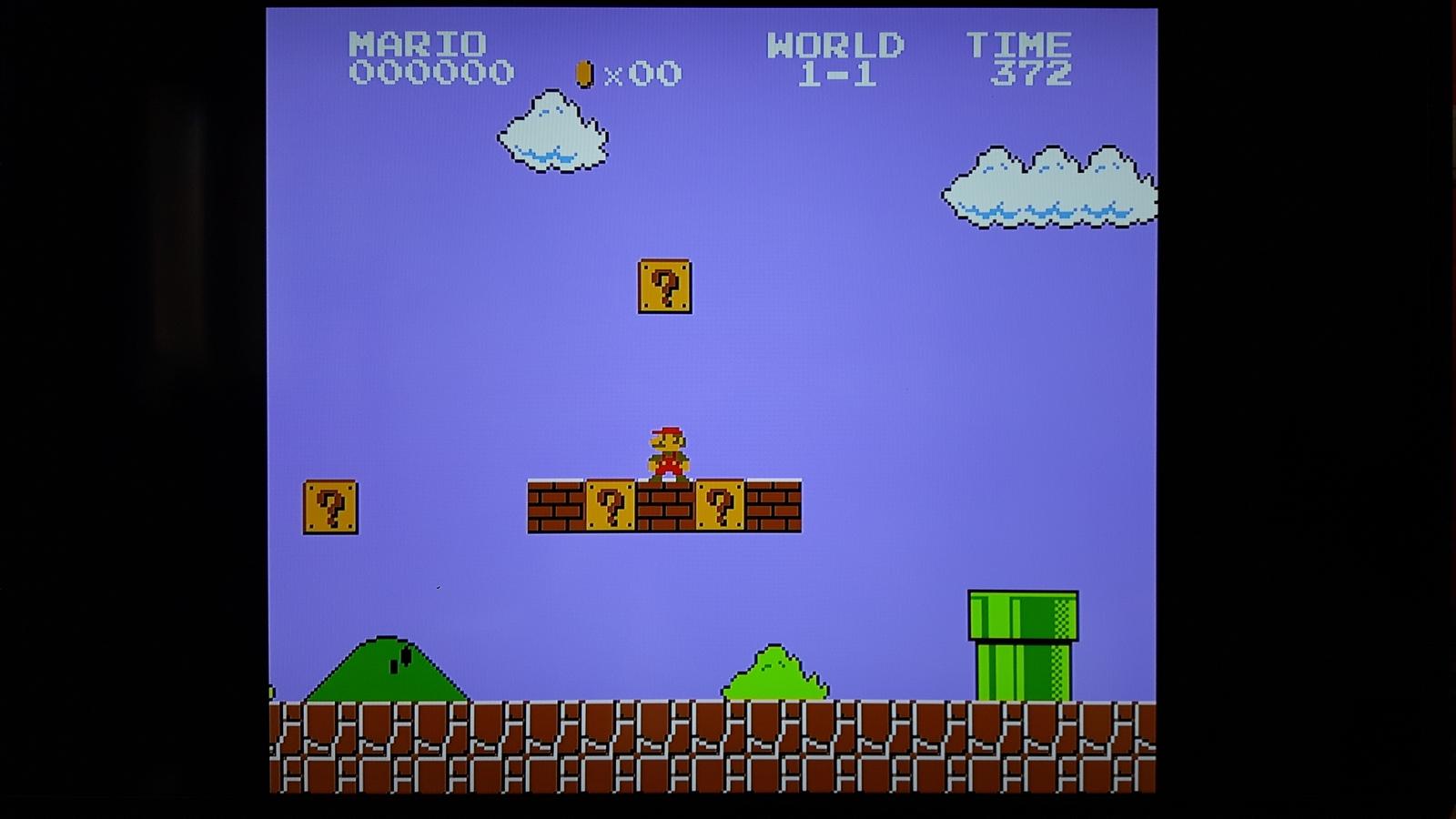 NES Classic Mini 4:3 Modus Grafik