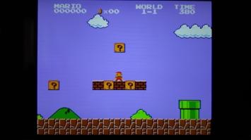 NES Classic Mini CRT Modus Grafik