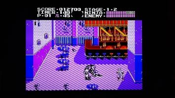 NES Classic Mini ninja Gaiden Action