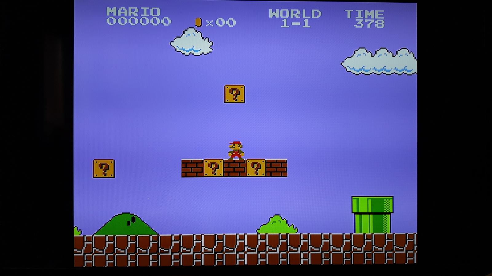 NES Classic Mini Original Modus Grafik