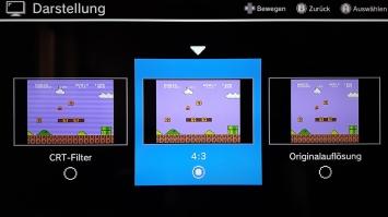NES Classic Mini Grafik Modus