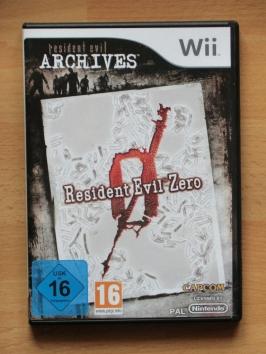 Resident Evil Zero Wii Survival Horror