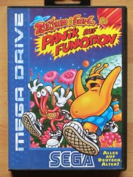 ToeJam & Earl Panik auf Funkotron Mega Drive Jump and Run