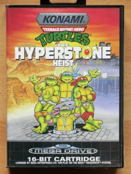 Turtles Hyperstone Heist Mega Drive Beat em Up