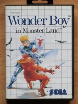 Wonder Boy Monster Land Master System RPG Adventure