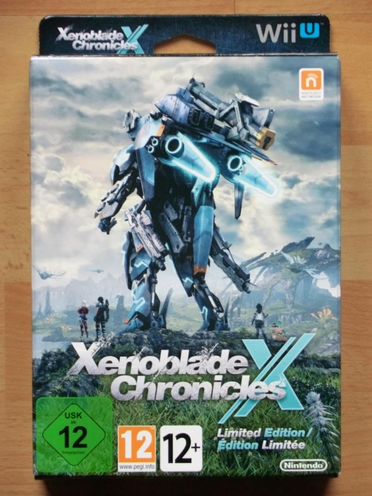 Xenoblade Chronicles X WII U RPG