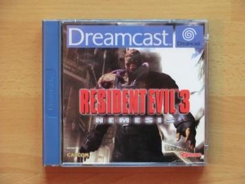 Resident Evil 3 Nemesis Dreamcast Survival Horror