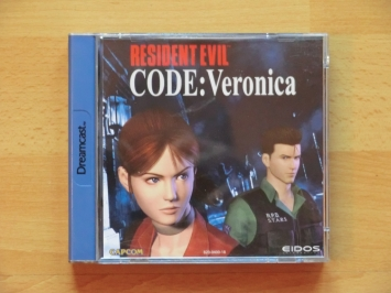 Resident Evil Code Veronica Dreamcast Survival Horror