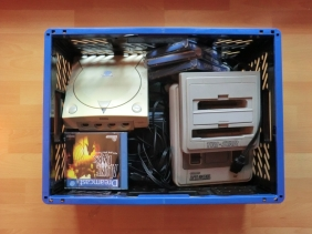 Retro Fund Schatzkiste Dreamcast SNES TRI-Star Games