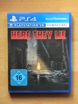 Here They Lie PlayStation 4 PS4 horror