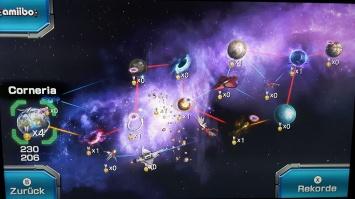 Star Fox WiiU Map Shooter Shmup