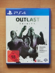Outlast Trinity PlayStation 4 PS4 Survival Horror