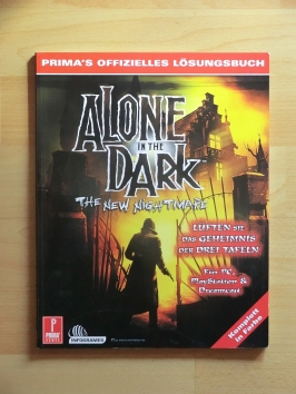 Alone in the Dark The New Nightmare Stategy Guide Book Lösungsbuch Survial Horror