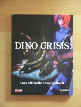 Dino Crisis Stategy Guide Book Lösungsbuch Survival Horror