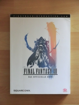 Final Fantasy XII Stategy Guide Book Lösungsbuch RPG