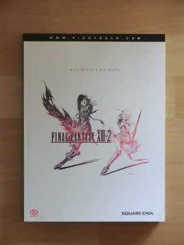 Final Fantasy XIII-2 Stategy Guide Book Lösungsbuch RPG