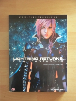 Final Fantasy XIII Lightning Returns Stategy Guide Book Lösungsbuch RPG
