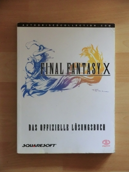 Final Fantasy X Stategy Guide Book Lösungsbuch RPG