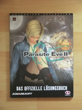 Parasite Eve 2 Stategy Guide Book Lösungsbuch Survival Horror