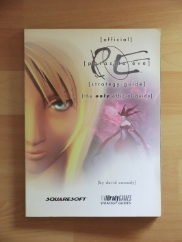 Parasite Eve Stategy Guide Book Lösungsbuch Survival Horror RPG
