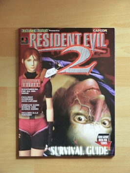 Resident Evil 2 Stategy Guide Book Lösungsbuch Survival Horror