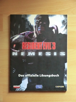 Resident Evil 3 Nemesis Stategy Guide Book Lösungsbuch Survival Horror