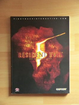 Resident Evil 5 Stategy Guide Book Lösungsbuch Survival Horror