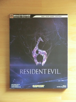 Resident Evil 6 Stategy Guide Book Lösungsbuch Survival Horror
