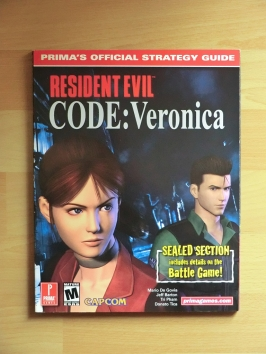 Resident Evil Code:Veronica Stategy Guide Book Lösungsbuch Survival Horror