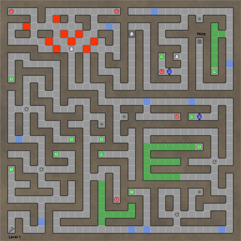 Shining in the Darkness SEGA Mega Drive RPG Walkthrough Lösung Map Cave of Truth