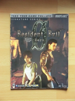 Resident Evil 0 Zero Stategy Guide Book Lösungsbuch Survival Horror