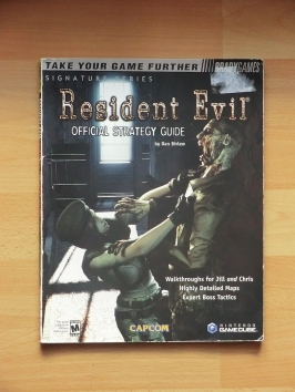 Resident Evil Stategy Guide Book Lösungsbuch Survival Horror